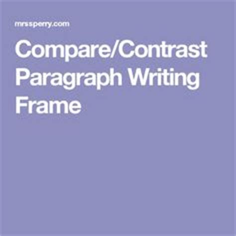 Compare contrast essay topics for elementary students
